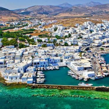 Pounda Paroikias PAROS Island GREECE