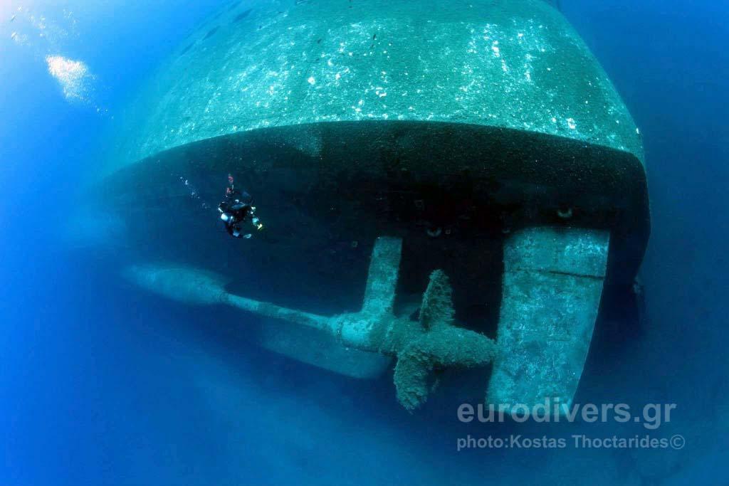 Samina Wreck Dive