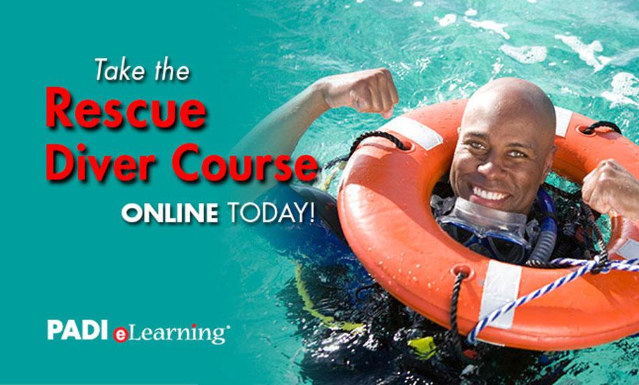 Certification Padi Rescue Diver
